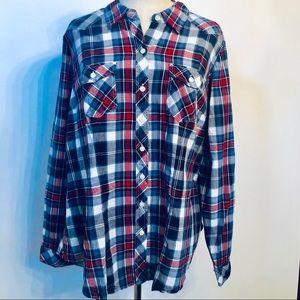 Torrid Plaid Shirt Size L